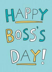 Boss's Day 2019