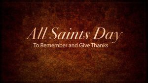All Saints' Day 2019